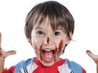 Шоколадхўр болажонлар учун какаоли кекс